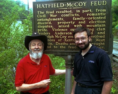 Hatfields And Mccoys. the Hatfields and McCoys?